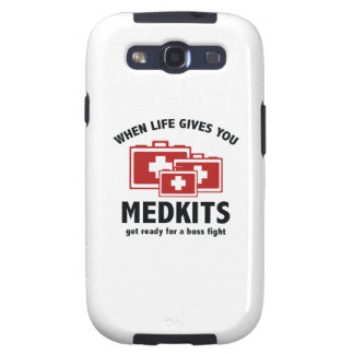 When Life Gives You Medkits Samsung Galaxy S3 Case