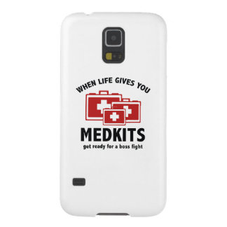 When Life Gives You Medkits Cases For Galaxy S5