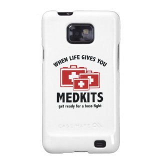When Life Gives You Medkits Samsung Galaxy S2 Cover