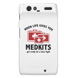 When Life Gives You Medkits Motorola Droid RAZR Case