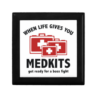 When Life Gives You Medkits Trinket Box
