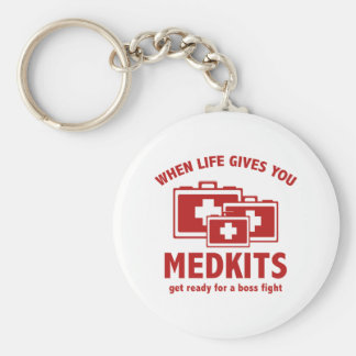 When Life Gives You Medkits Key Chain