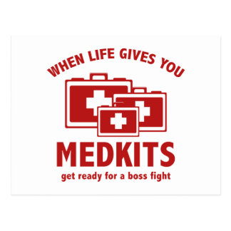 When Life Gives You Medkits Postcard