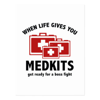 When Life Gives You Medkits Post Card