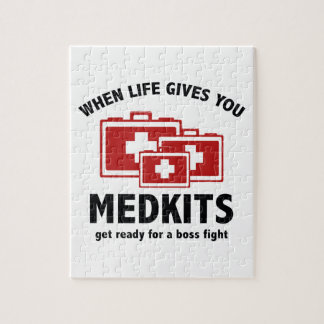 When Life Gives You Medkits Puzzles