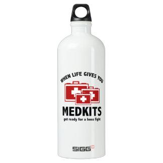 When Life Gives You Medkits SIGG Traveler 1.0L Water Bottle