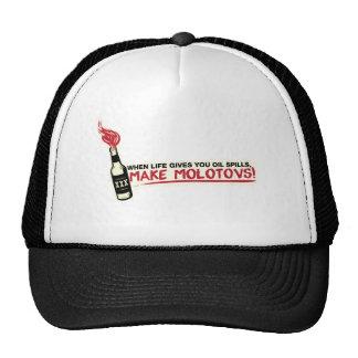 when life gives you oil spills make molotovs bp trucker hat