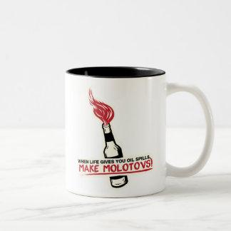 when life gives you oil spills make molotovs bp mug