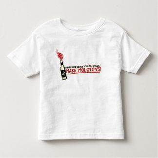 when life gives you oil spills make molotovs bp toddler t-shirt