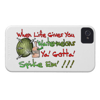 When Life Gives You Watermelons iPhone 4 Case-Mate Case