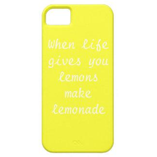 When life givs you lemons make lemonade Iphone5 Ca iPhone SE/5/5s Case