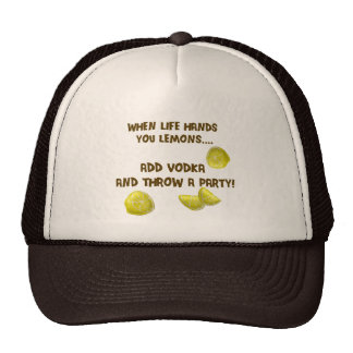 When life hands you lemons trucker hat