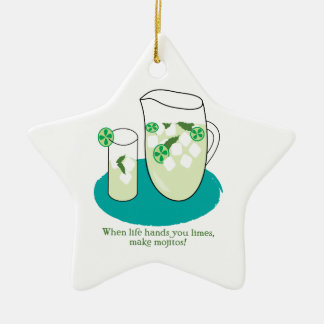 When Life Hands You Limes, Make Mojitos! Ornaments
