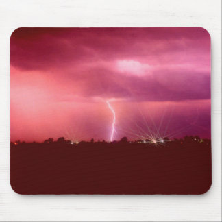 WHEN LIGHTNING STRIKES MOUSE PAD