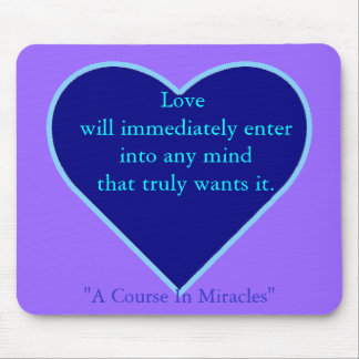 When Love Enters Mousepad