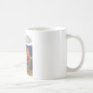When Men Flounder Funny Classic White Coffee Mug