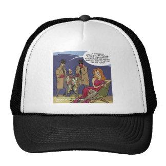 When Men Flounder Funny Trucker Hat