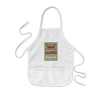 When mom says no, ask for grandma. Kid's apron. Kids' Apron