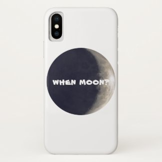 When moon? Crypto iphone cover