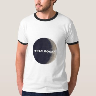 When moon? Crypto tshirt