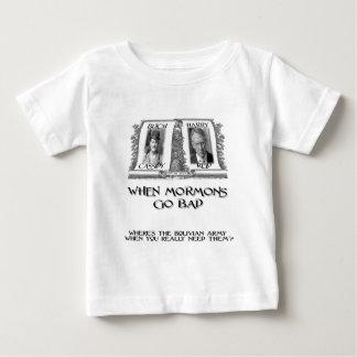 When Mormons go Bad: Harry Reid Baby T-Shirt