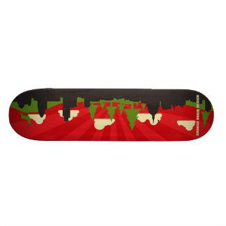 When Mother Nature... (No Text)  -  Deck. Skateboard Deck