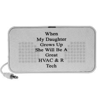 When My Daughter Grows Up She Will Be A Great HVAC Travel Speakers