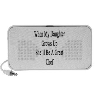 When My Daughter Grows Up She'll Be A Great Chef Mp3 Speaker