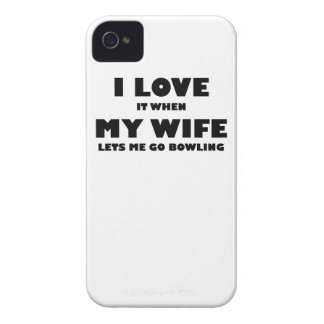 When My Wife Lets Me Go Bowling iPhone 4 Case