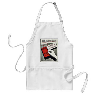 When No Provision Is Made For Locking The Switch Apron