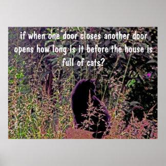 when one door closes... poster