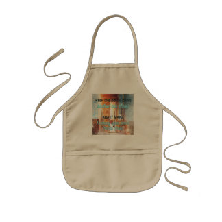 when one door opens another one closes... kids' apron