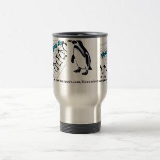 When Penguins Fly - Band 15 Oz Stainless Steel Travel Mug