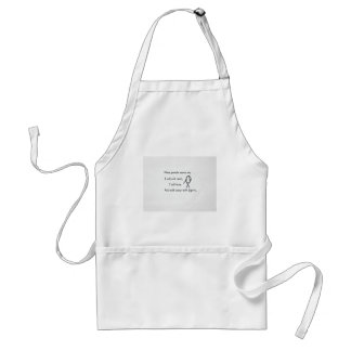 When people annoy me aprons