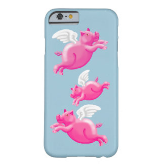 When pigs fly barely there iPhone 6 case