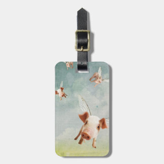 When Pigs Fly - Believe Tag For Luggage