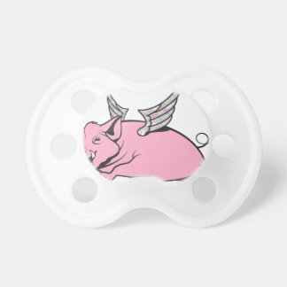when pigs fly BooginHead pacifier
