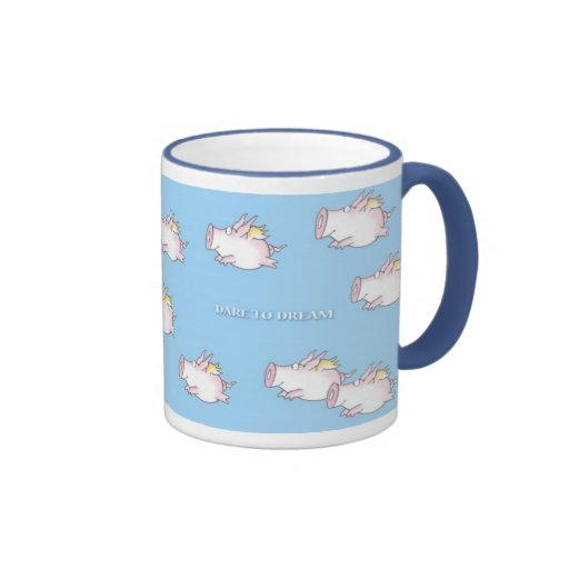 WHEN PIGS FLY by Sandra Boynton Coffee Mugs