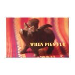 When Pigs Fly Canvas Wall Art Stretched Canvas Prints