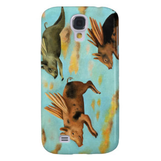 When Pigs Fly Galaxy S4 Cover