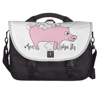 When Pigs fly Bag For Laptop