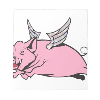 when pigs fly notepad