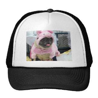 When Pigs Fly Pug Trucker Hat