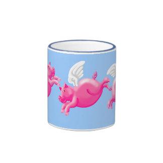 When pigs fly ringer mug