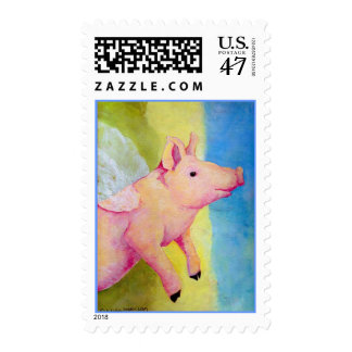 When Pigs Fly Stamp
