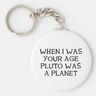 When Pluto Keychain