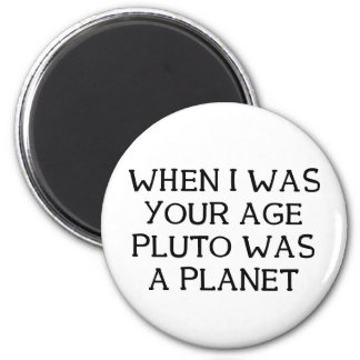 When Pluto Magnet