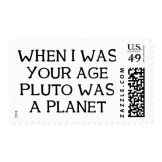 When Pluto Stamp