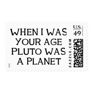 When Pluto Postage Stamp