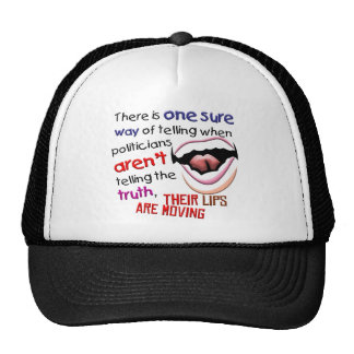 When Politicians Tell the Truth Trucker Hat